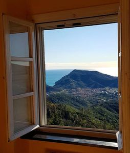 Photo for Casa il Grappolo, Sea View Sestri Levante