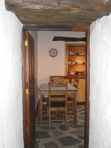 Photo for Pretty rural canary style house of lava, wood ceilings and stone floor