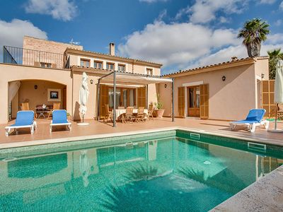 Photo for Family finca with private pool in rural surroundings