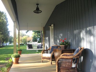 Photo for Upscale Private Cottage in the Charming Village of Irvington with Dock Access!