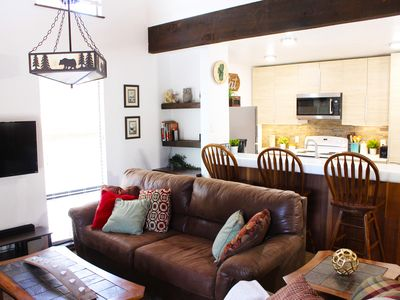 Photo for Inviting & Spacious Townhome Close to Beach w/swimming pool & in great location!