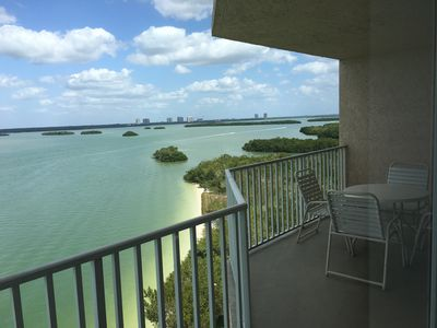 Photo for Unit 803! Sunset&Sunrise from this Condo! You'll Feel Like You're on the Water!