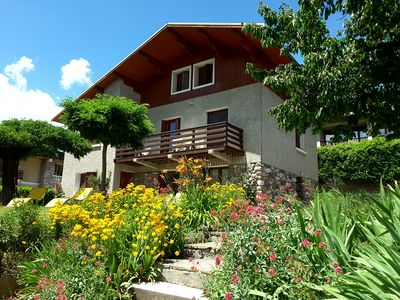 Photo for Rent Guillestre ground-of-chalet 4 pers, beautiful view full south
