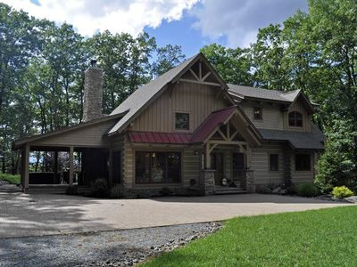 Photo for Spectacular Timber Frame Lodge