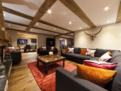Photo for Stunning luxury chalet within easy walking distance of Morzine centre.