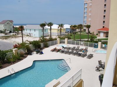 Photo for Beautiful 1 bedroom condo with a Gulf View!