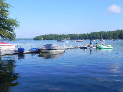 Photo for WATERFRONT LAKE WINNIPESAUKEE,  LONG ISLAND COTTAGES, COZY 1 BEDROOM COTTAGE