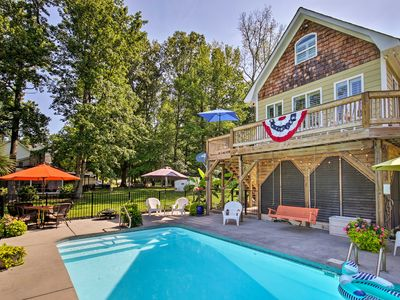 Photo for NEW! Camden Home on Lake Wateree w/ Boat Dock!
