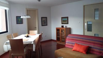 Photo for Nice apartment with a pretty sight and very close to Habitat III events