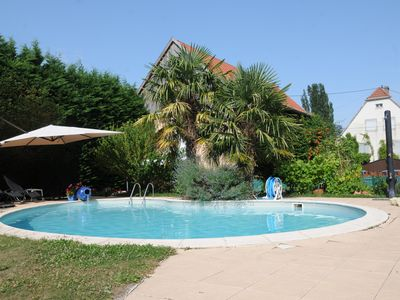 Photo for Nice rental cottage Alsatian countryside, shared pool, 4 to 5 persons.