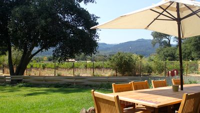 Photo for Beautiful Farmhouse in the Heart of Napa Valley. Pool and Hot Tub