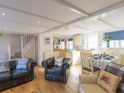 Photo for Maggie May's: 3 bed family cottage in St Ives close to beach, cafes and shops,