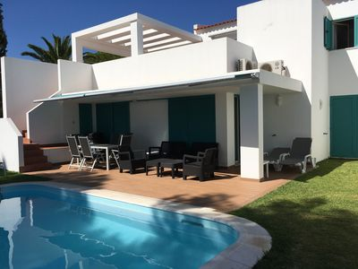 Photo for Beach Villa  in Prainha,Alvor sea view, private pool and galrden, with
