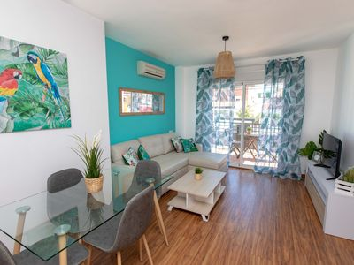 Photo for Wonderful apartment by the sea in pedregalejo