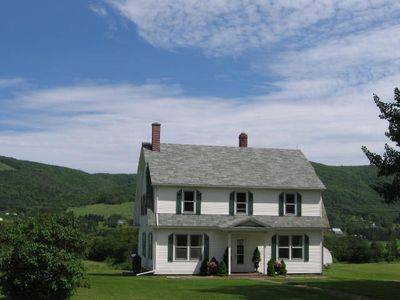Photo for Luxury property with its own Salmon Pool on The Margaree River