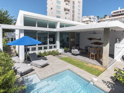 Luxurious And Beautiful Isla Verde Beach House with pool  (SEE VIDEO)