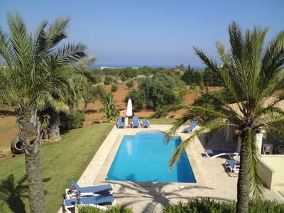 Photo for Finca for 8 persons with swimming pool, Wi-Fi and garden in the southeast of Mallorca