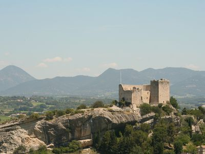 Photo for villa, 8 people quiet on the heights of Vaison la Romaine