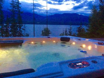 Photo for Eagle's Nest - Semi-lakefront Retreat With Hot Tub!