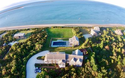 Photo for Pocomo Waterfront Beach House with Pool, Spa and new guest house!