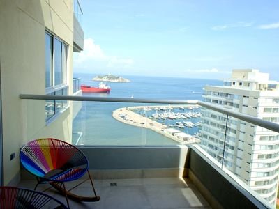 Photo for Sweeping Views From New, Spacious, Ocean View Apartment