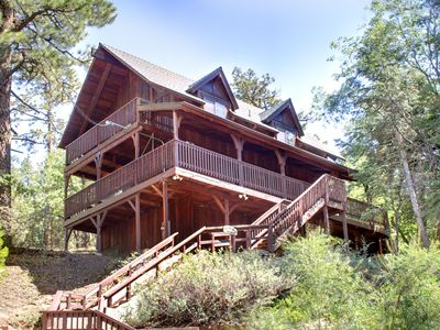 Photo for Family-Friendly, Warm, Updated Cabin Less Than 1 Mile to Bear Mountain