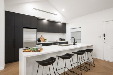 Kitchen Abode Accommodations Mount Gambier