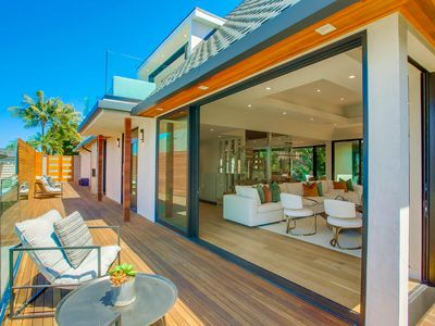 Photo for NEW La Jolla luxury home - Indoor/outdoor living with pool and spa!