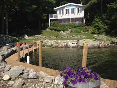 Photo for Your Black Cat Island Escape! Enjoy Private Walk-in Beach, Kayaks, Dock & Float