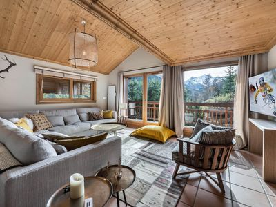 Photo for Chalet Haapiti - Amazing views for this chalet close to the center and slopes