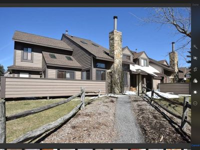 Photo for Seven Springs 3Bed/3Bath Ski In / Ski Out Townhome With 1 Car Garage