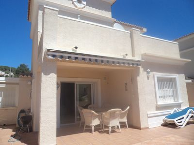 Photo for CALPE Luxury Villa   A/C WiFi Communal Pool - Bar/Restaurants nearby - Quiet Are