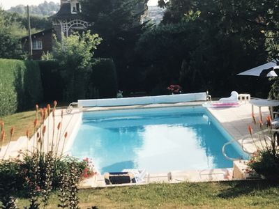 Photo for Beautiful bourgeois house in a quiet area with south-facing pool