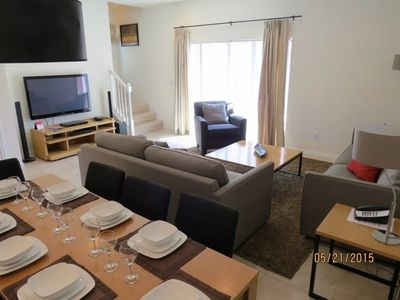 Photo for EC004 Beautiful, modern 3 bedroom, 2.5 bathroom townhouse with private Hot Tub