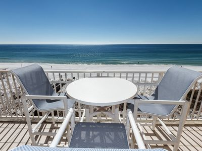 Photo for Gulf Dunes 605: CHECK OUT THIS TOP FLOOR UNIT! FREE SNORKELING, BEACH SERVICE