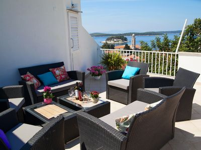Photo for Large house ideal for families & big groups with a great view -newly redecorated
