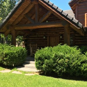 Photo for Story Book Log Home on 10 Private Acres