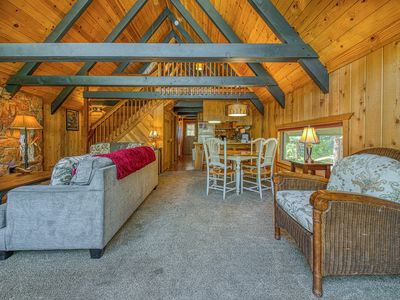 Photo for Spacious, dog-friendly cottage close to hiking, fishing, and outdoor fun!