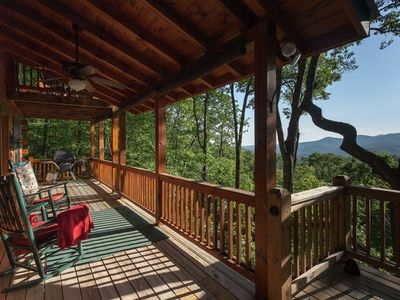 Photo for Soak away the stress while taking in the stunning mountain views.  Non pet-friendly.