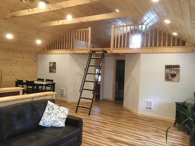 Photo for Private 2 bedroom apartment with large deck