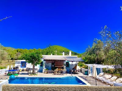 Photo for Villa 5 double bedrooms. 3 bathrooms.2 Kitchens and big Swimming pool Wifi