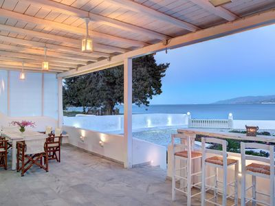 Photo for Paradis beach home in Paros