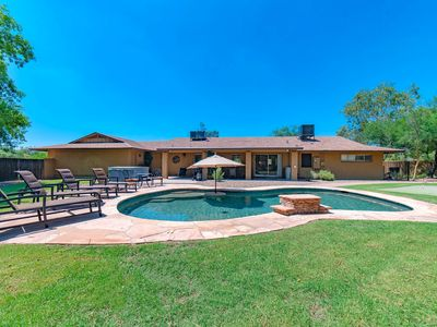 Photo for Private & Spacious - 5 BR on Acre Lot + Large Pool