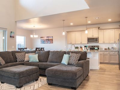 Photo for 438 | Luxury Townhome, 35 Minutes from Zion, X-Box, Ping-Pong, Mini Fridge, Mountain Views, and More