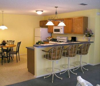 Dine and entertain with all the modern conveniences in our eat-in kitchen.