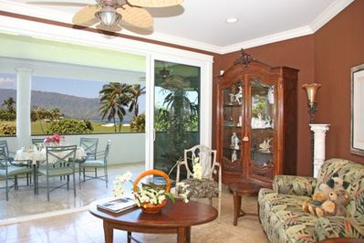 Entertain from Awesome View Living Room/Dining Room/Lanai - Open Floorplan