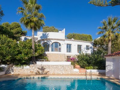 Photo for Modern, 3 bedroom villa with private pool, sea views and WIFI.