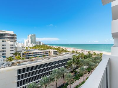 Photo for Ocean front duplex family home in the heart of South Beach.