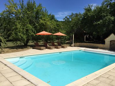 Photo for Sarlat house with a private pool, enjoy rest, relaxation, activities