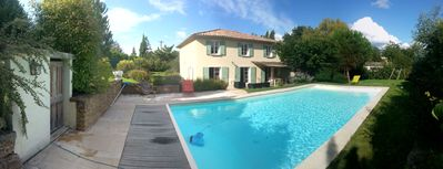 Photo for Villa type Bastide 200m² heated pool and pétanque pitch